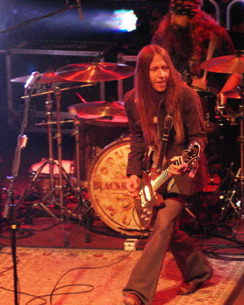 Photograph - Charlie Of Blackberry Smoke 4 by Ben Upham