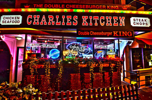 Photograph - Charlies Kitchen In Harvard Square by Toby McGuire