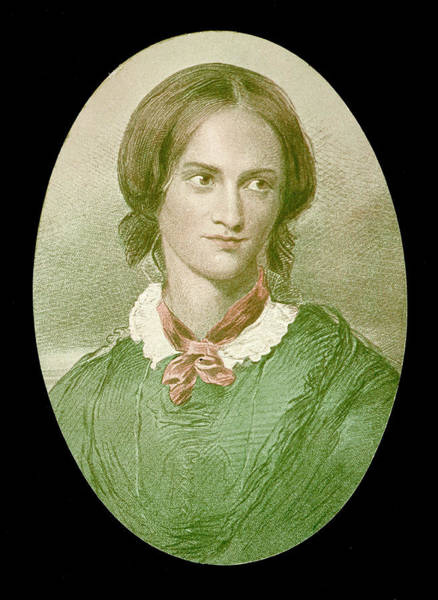 Wall Art - Drawing - Charlotte Bronte  English Novelist by Mary Evans Picture Library