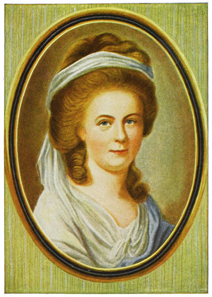 Wall Art - Drawing - Charlotte Buff (kestner)  Goethe Fell by Mary Evans Picture Library