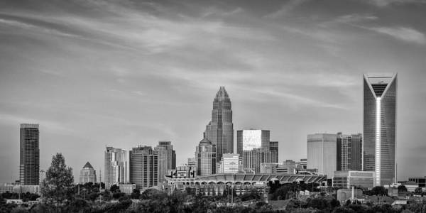 Charlotte Nc Wall Art - Photograph - Charlotte Chrome by Brian Young