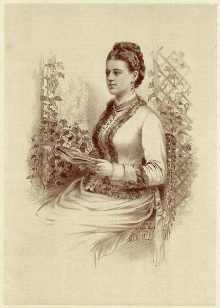 Wall Art - Drawing - Charlotte Frances Frederica, British by Mary Evans Picture Library