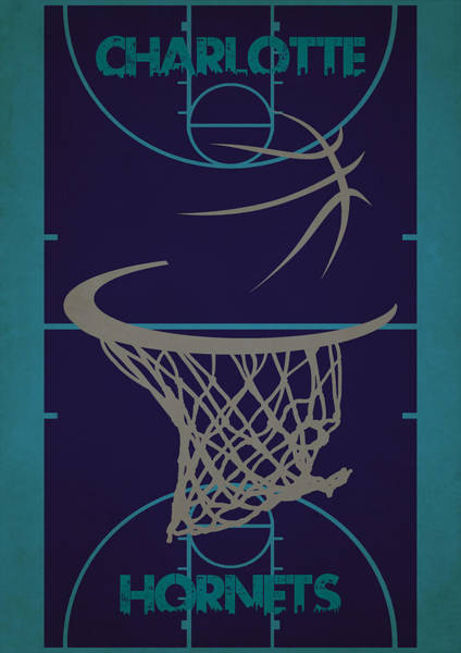 Wall Art - Photograph - Charlotte Hornets Court by Joe Hamilton