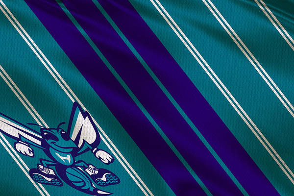 Wall Art - Photograph - Charlotte Hornets Uniform by Joe Hamilton