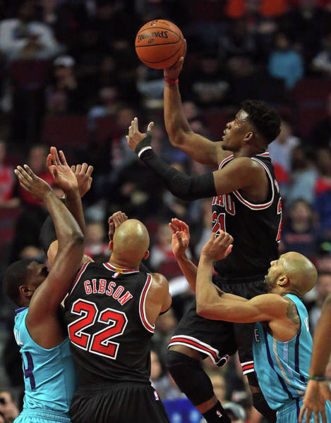 Chicago Photograph - Charlotte Hornets V Chicago Bulls by Jonathan Daniel