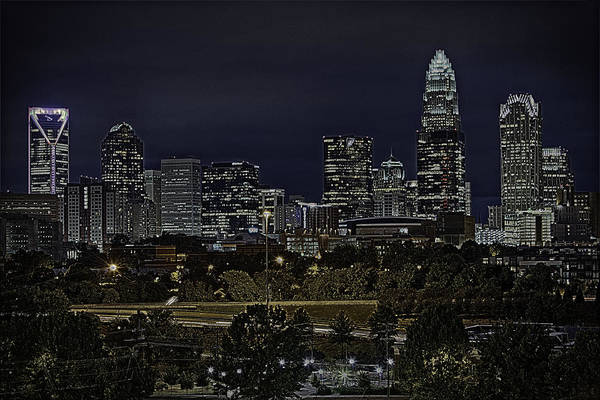 Photograph - Charlotte Intwilight by Donald Brown