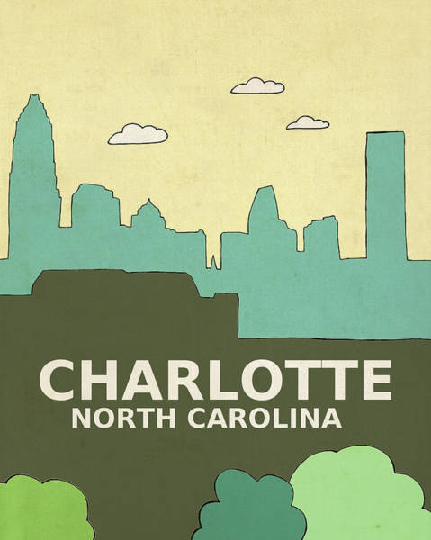 Charlotte Nc Wall Art - Painting - Charlotte by Lisa Barbero