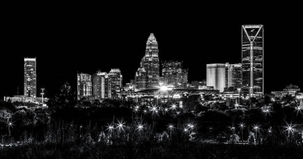 Charlotte Wall Art - Photograph - Charlotte Night by Chris Austin