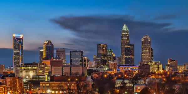 Charlotte Nc Wall Art - Photograph - Charlotte North Carolina by Brian Young