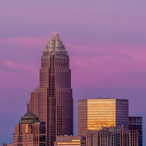 Photograph - Charlotte North Carolina Skyline In The Afternoon Sun. by Alex Grichenko