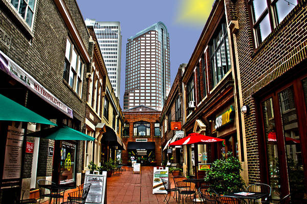 Wall Art - Photograph - Charlotte Old And New by Frank Savarese