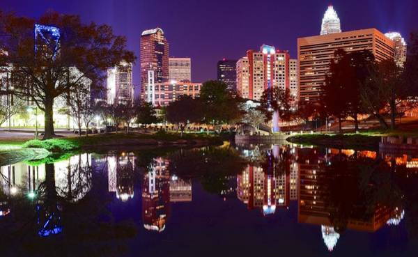 Wall Art - Photograph - Charlotte Panoramic Reflection by Frozen in Time Fine Art Photography