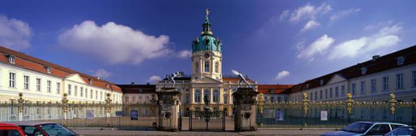 Imposing Wall Art - Photograph - Charlottenburg Palace Schloss by Panoramic Images
