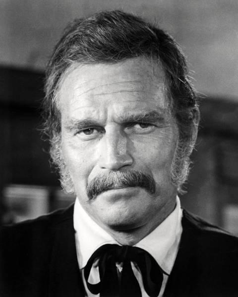Last Photograph - Charlton Heston In The Last Hard Men  by Silver Screen