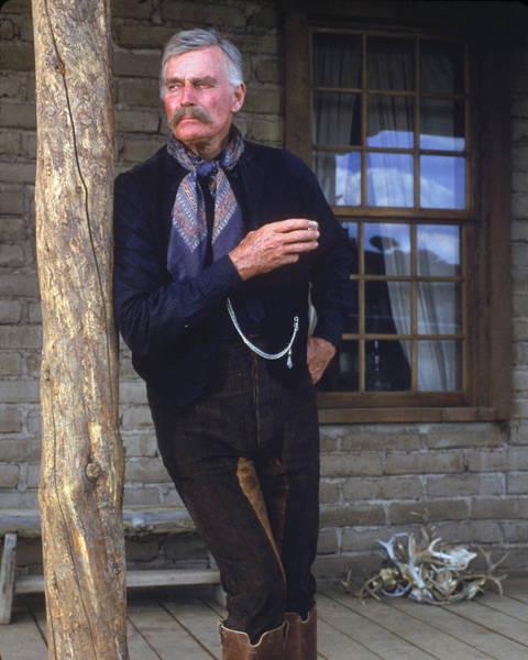 Tombstone Photograph - Charlton Heston In Tombstone  by Silver Screen