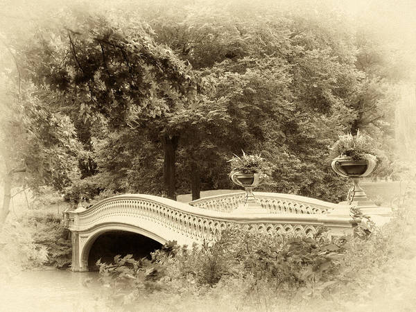 Photograph - Charm Of Bow Bridge by Jessica Jenney