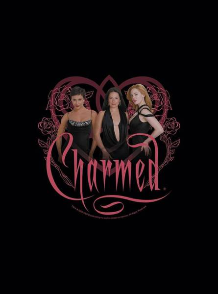 Witchcraft Digital Art - Charmed - Charmed Girls by Brand A