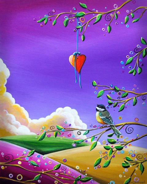 Girly Painting - Cherish by Cindy Thornton