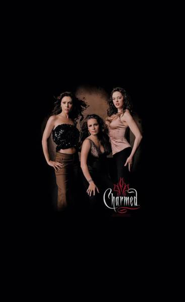 Wall Art - Digital Art - Charmed - Three Hot Witches by Brand A