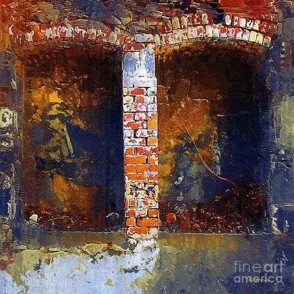 Painting - Charnel House by RC DeWinter