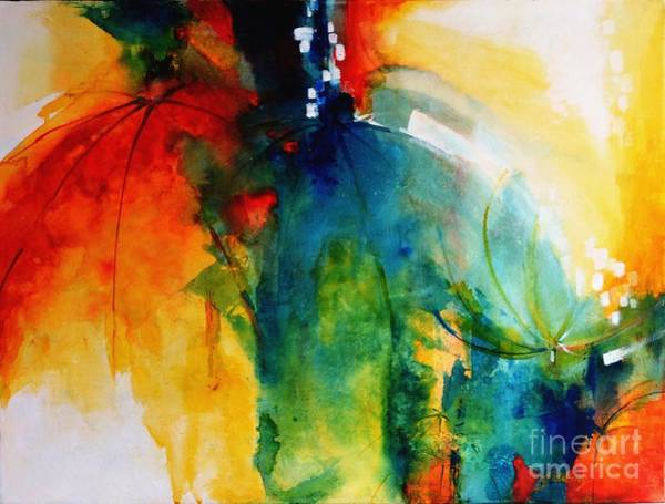 Painting - Chasing Dreams 1 by Betty M M   Wong