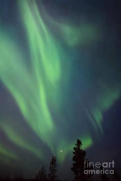 Kanada Wall Art - Photograph - chasing lights II with textures by Priska Wettstein