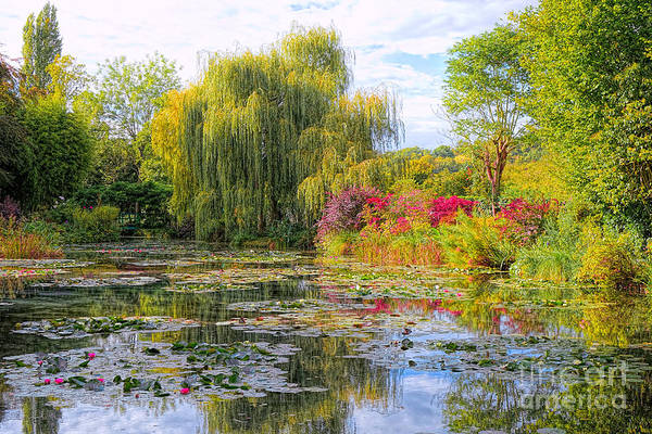 Giverny Photograph - Chasing Monet by Olivier Le Queinec