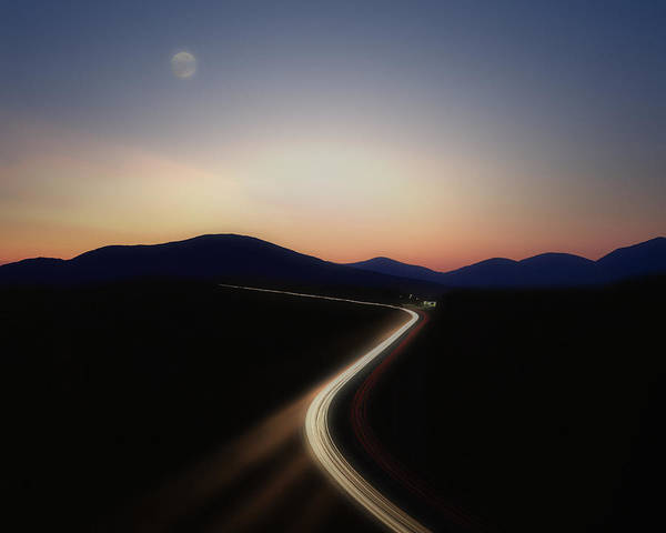 Chasing The Light Art Print