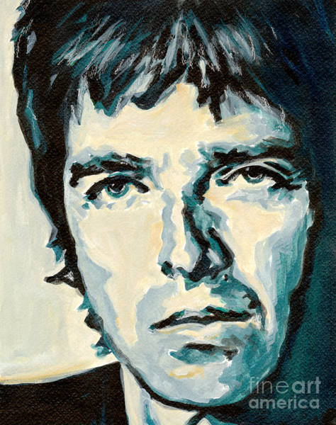 Painting - Noel Gallagher by Tanya Filichkin