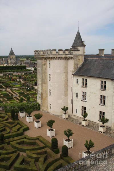 Villandry Photograph - Chateau And Garden - Villandry by Christiane Schulze Art And Photography