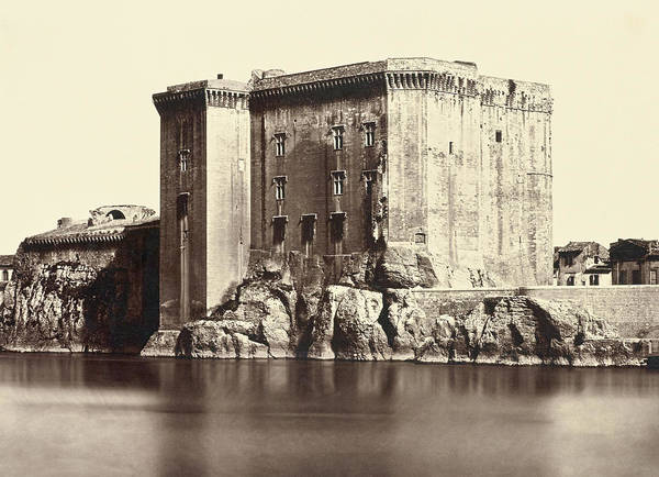 Wall Art - Photograph - Chateau De Tarascon, C1861 by Granger