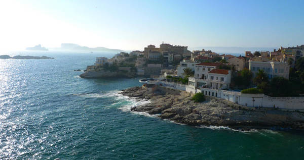 Chateau D'if Bay Of Marseille Art Print