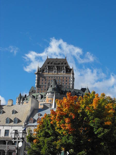 Wall Art - Photograph - Chateau Frontenac by Dominic Labbe