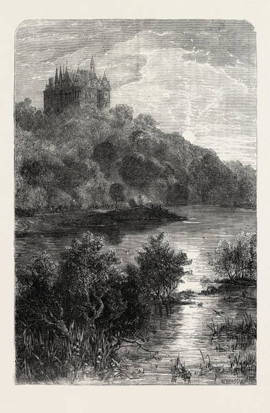 Chateau Drawing - Chateau Of The Widow Clicquot Headquarters Of The Crown by French School