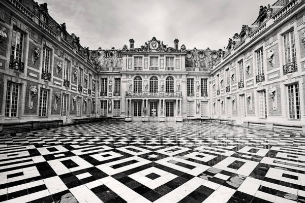 Photograph - Chateau Versaille France by Pierre Leclerc Photography