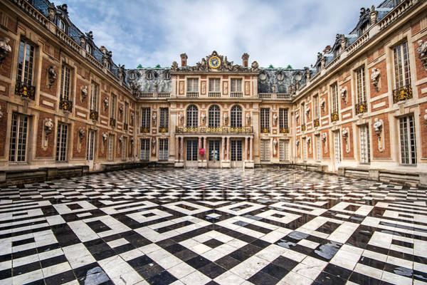 Photograph - Chateau Versailles France by Pierre Leclerc Photography