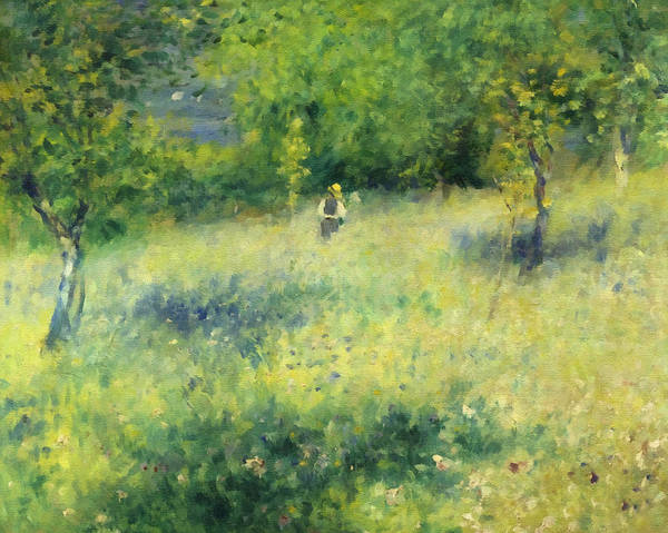 Chatou After Renoir Art Print