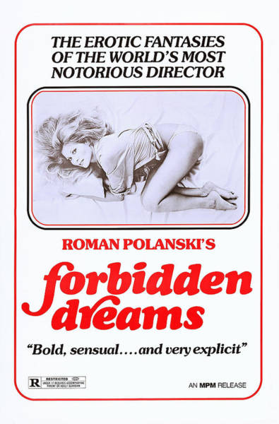 Erotic Movie Poster Photograph - Che Aka What, Aka Forbidden Dreams, Us by Everett