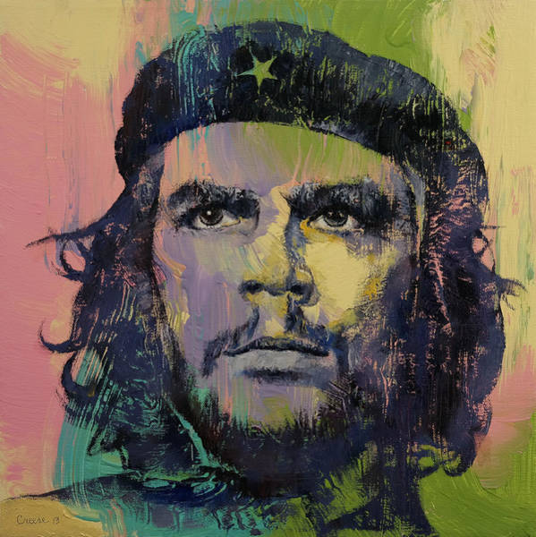 Cuban Painting - Che Guevara by Michael Creese
