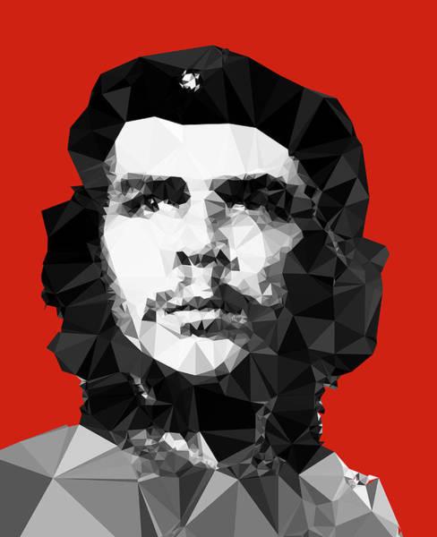 Commemorative Wall Art - Digital Art - Che Guevara by Vitaliy Gladkiy