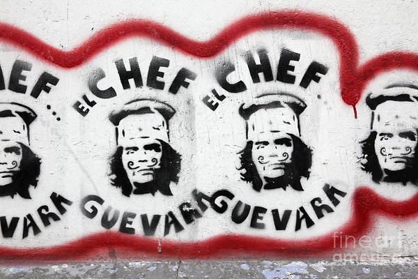 Photograph - Che The Chef Guevara by James Brunker