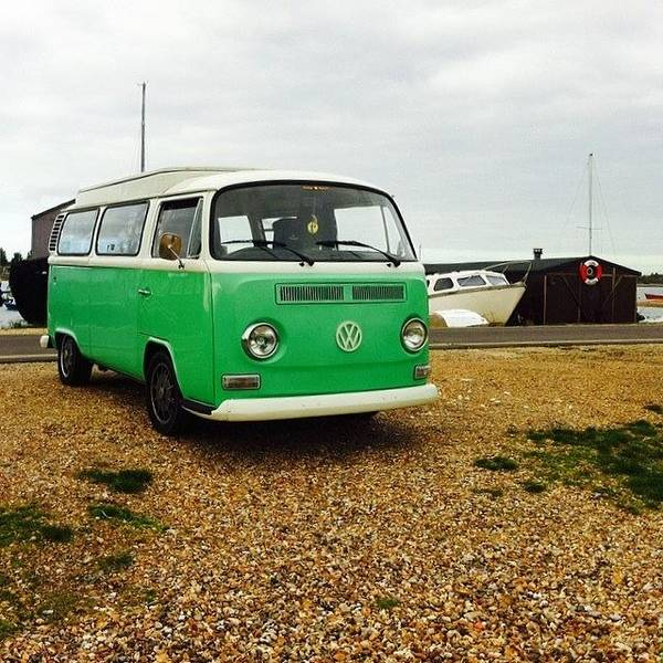 Vw Kombi Photograph - Check Out Our Blog Of Our Journeys In by Jimmy Lindsay