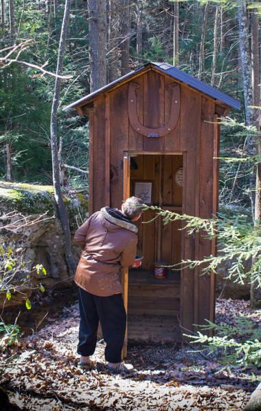 Toilet Photograph - Check The Facilities by Douglas Barnett
