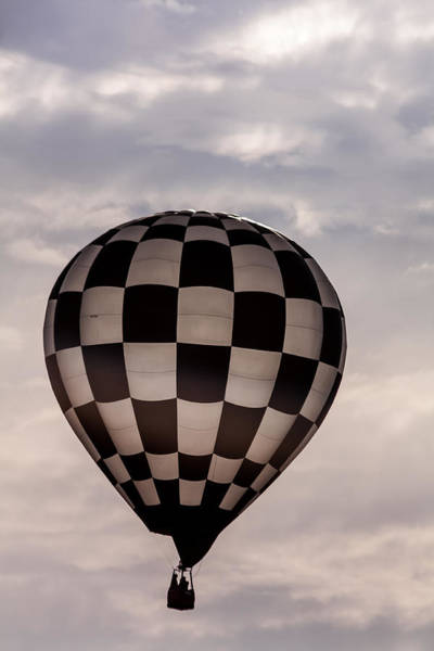 Photograph - Checkered Black And White by Teri Virbickis
