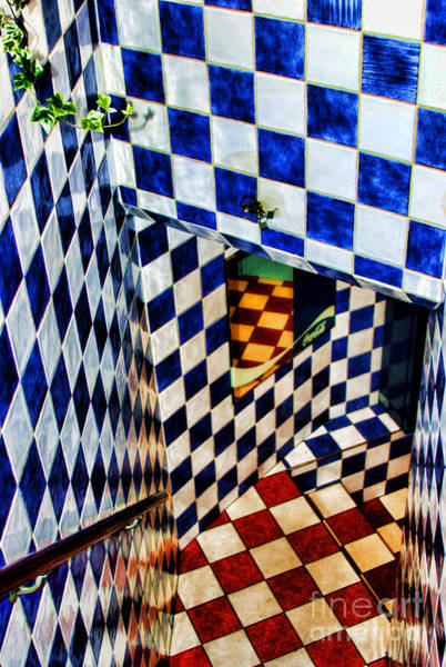 Photograph - Checkered Past By Diana Sainz by Diana Raquel Sainz