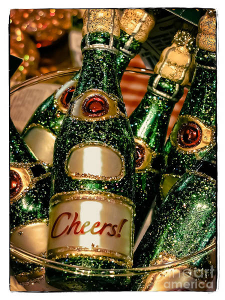 Gold Photograph - Cheers by Colleen Kammerer