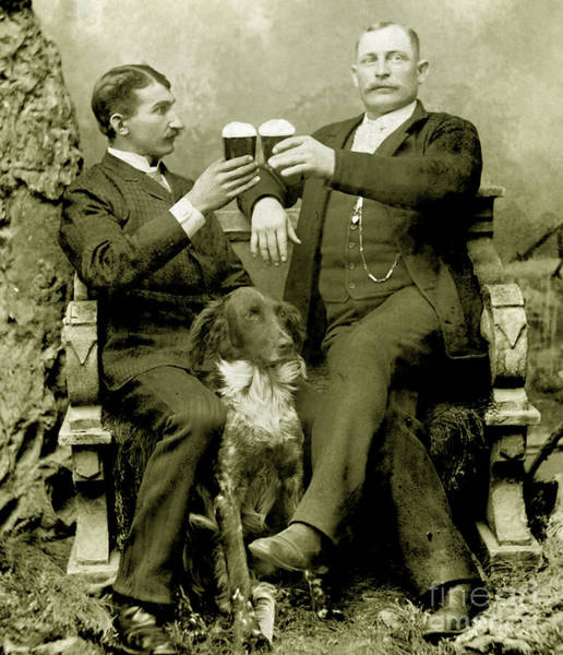 Father Photograph - Cheers To Beer by Jon Neidert