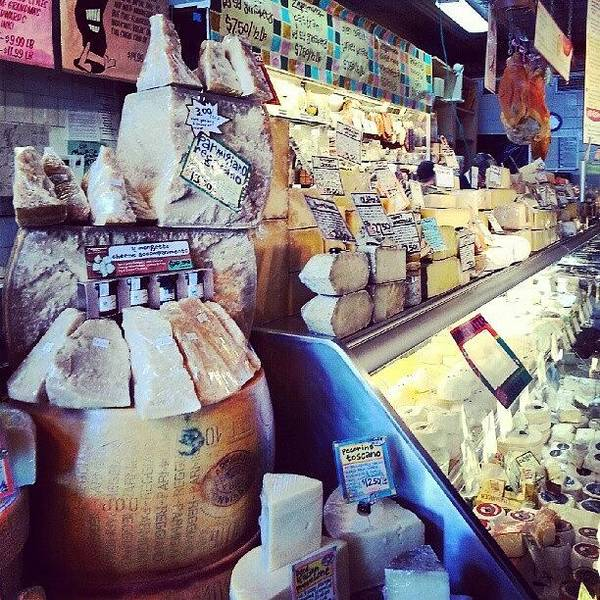 Shop Wall Art - Photograph - Cheese At Zingerman's by Jill Tuinier