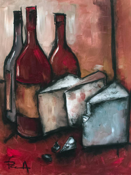 Painting - Cheese Board by Sean Parnell