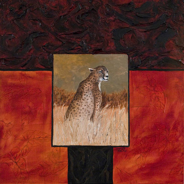 Painting - Cheetah by Darice Machel McGuire